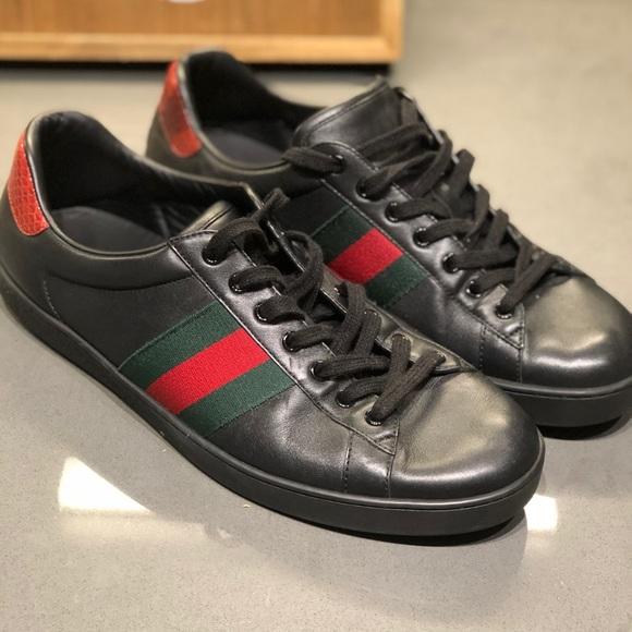 Gucci Shoes | Authentic Gucci Mens Ace